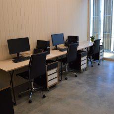 Biroja/attālināto darbavietu telpa