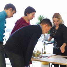 ALTUM atbalsta gadatirgus biznesa uzsācējiem (02.11.2016) Foto: Kristaps Lapiks